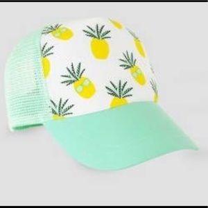 Baby pineapple print cap 🍍